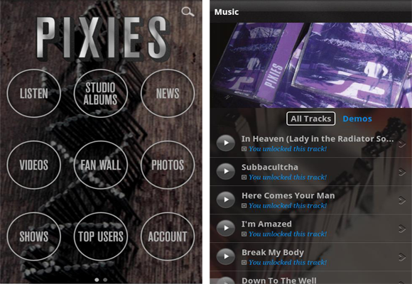 "Pixies release iPhone ""super-app""; Kim Deal learns what an iPhone is"