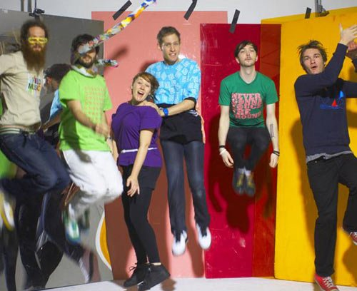 Architecture in Helsinki announce US tour with DOM, using multiple exclamation points