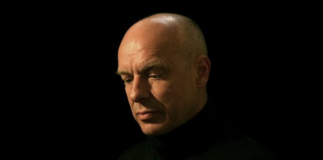 Brian Eno announces new EP and that he's growing his hair out again