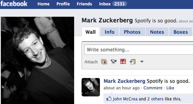Users complain about Spotify/Facebook partnership, Spotify Death Watch 2011 begins