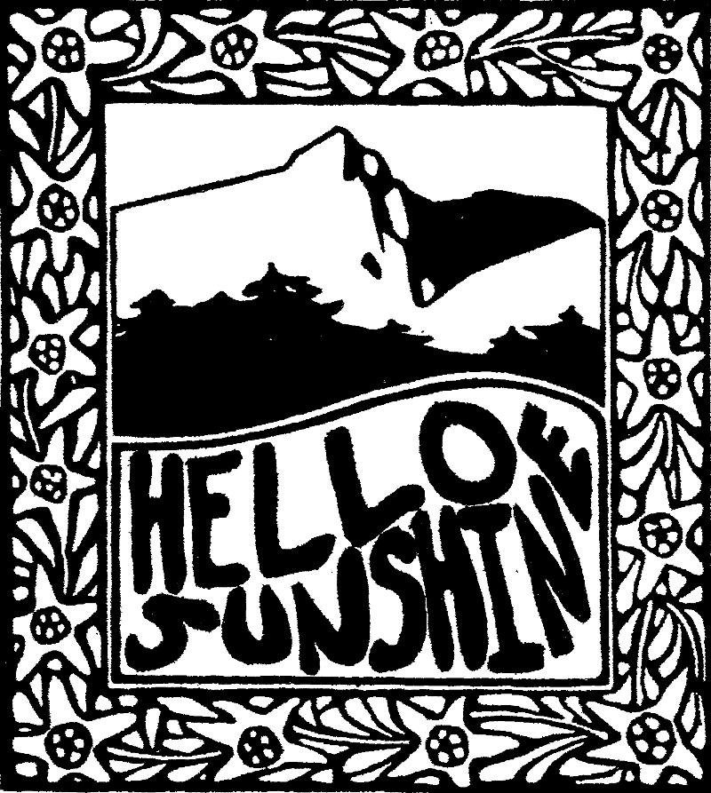 And lo! Woodsist begat Hello Sunshine, who begat new LPs from Jovontaes, The Polyps