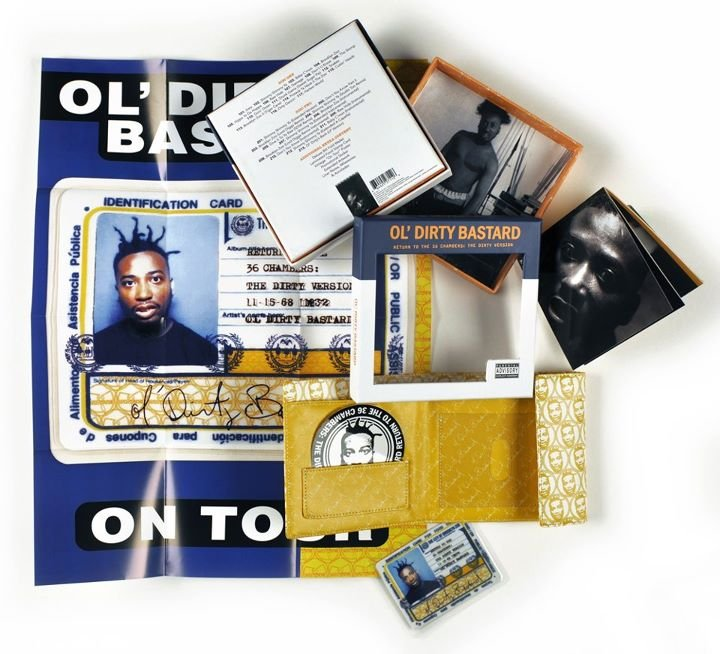 Ol' Dirty Bastard's Return to the 36 Chambers gets deluxe reissue with actual food stamp card