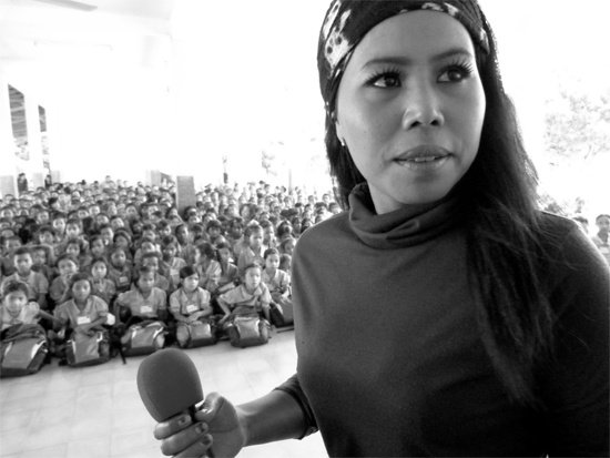 Cambodian Space Project lead singer Srey Thy becomes UN Goodwill Ambassador
