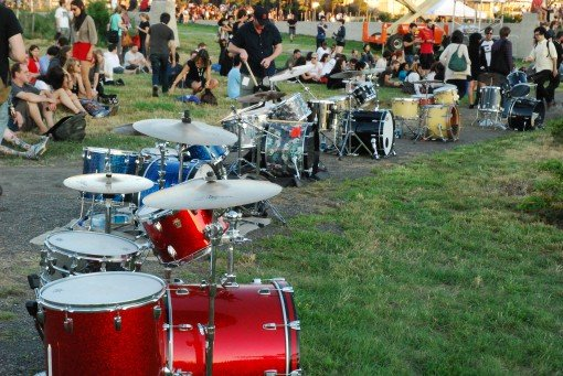 Boredoms continue their series of numerical drum circles with 111 Boadrum on 11.11.11