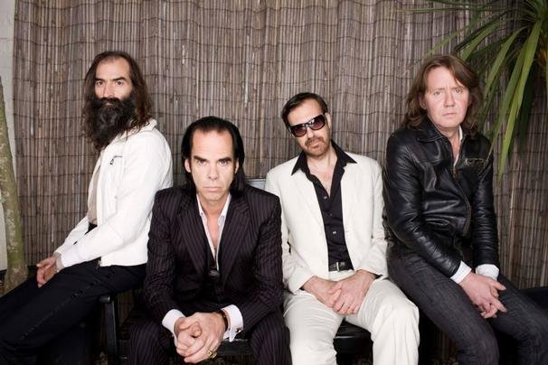 Grinderman go to smutty old man heaven, where Nick Cave is already considered a patron saint