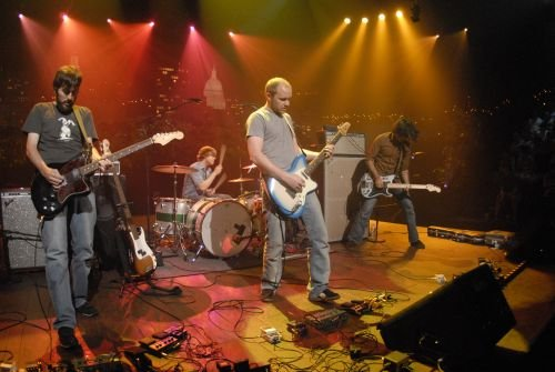 Explosions in the Sky tour, again proving themselves as a band capable of playing music