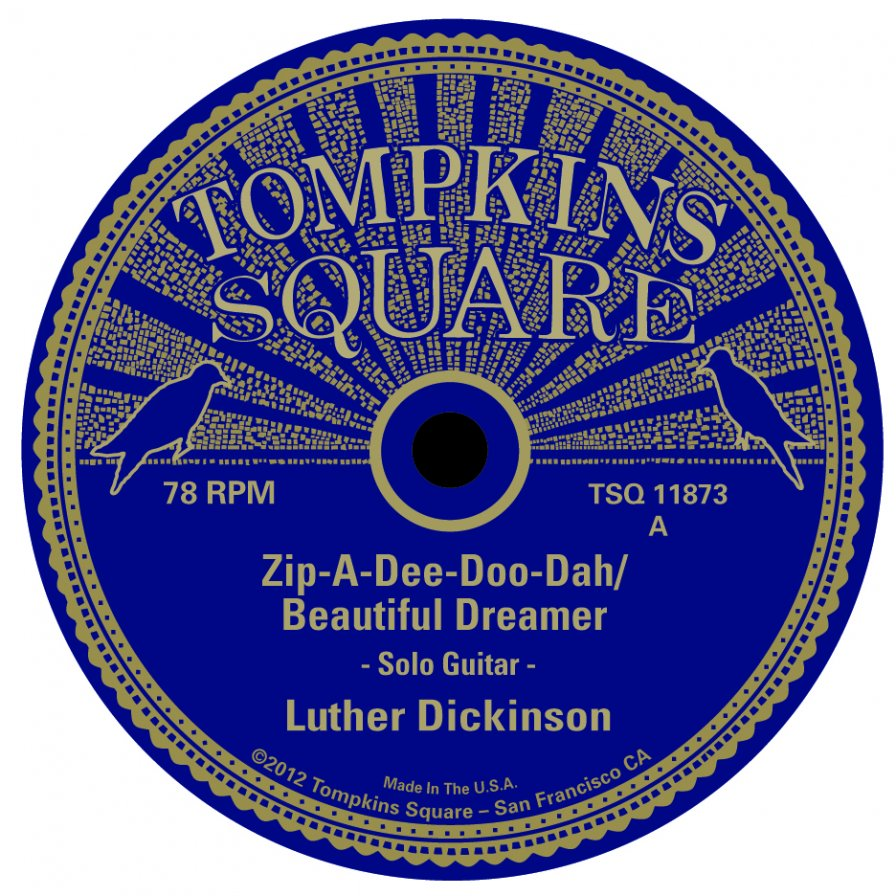 Tompkins Square announces series of 78 rpm 10-inch records, because that newfangled digital stuff is overrated anyway