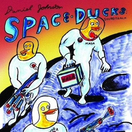 Daniel Johnston releases soundtrack to Space Ducks comic book/iPad app (ft. Eleanor Friedberger, Unknown Mortal Orchestra, Lavender Diamond, and a bunch of ducks from outer space)