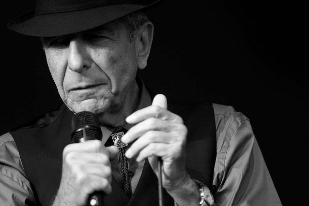 Leonard Cohen still unpacking and repacking a single suitcase for his European Old Ideas tour in August