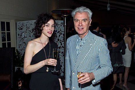 St. Vincent and David Byrne to release collaborative album after bonding over their mutual love of glassy-eyed stares