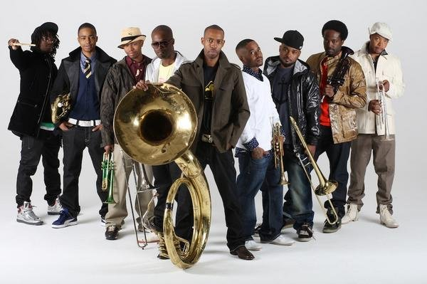 Hypnotic Brass Ensemble and Philip Cohran to promote uncontrollable butt-shaking with collaborative album via Honest Jon's
