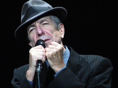 Leonard Cohen announces North American croondates