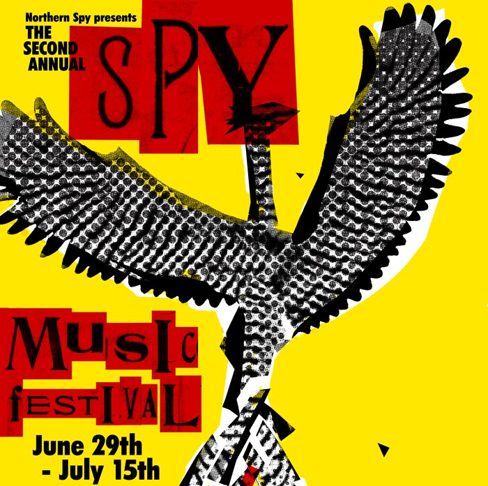 Northern Spy throws another music fest: Rhys Chatham, Arthur Doyle, Eugene Chadbourne, Magik Markers, 40+ others