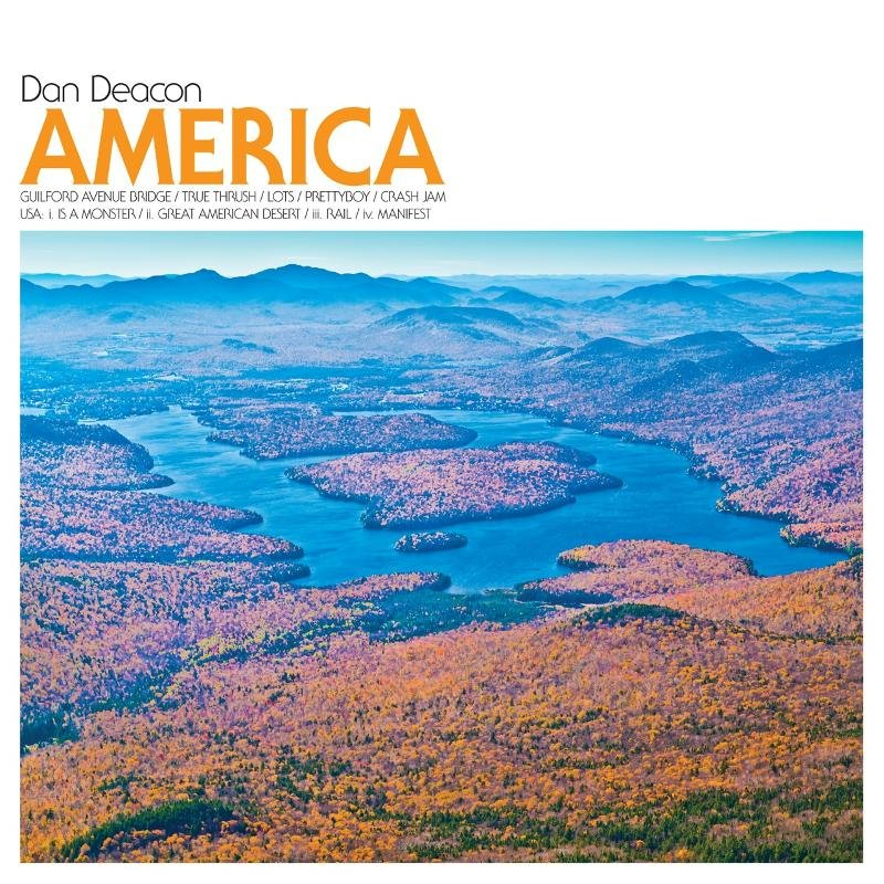 Dan Deacon announces more tourdates this fall, reveals America album cover, considers normal glasses so the concert music world would finally take him seriously