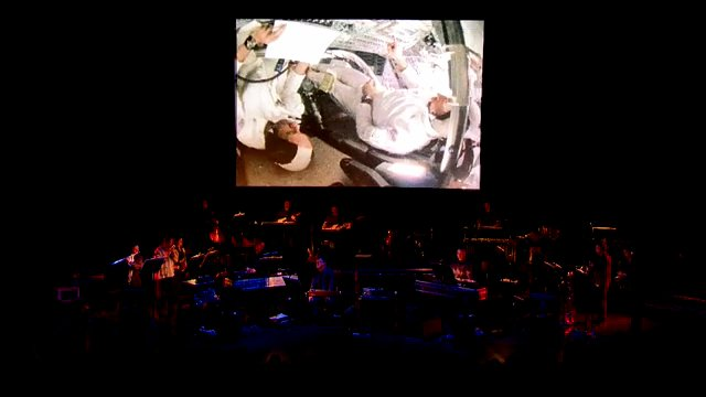 Icebreaker and BJ Cole figuratively caress Brian Eno's bald head with Apollo re-imagining