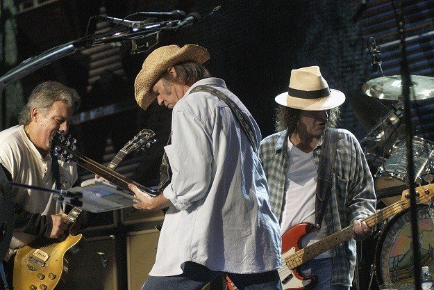 Neil Young & Crazy Horse shake off all the live rust and announce tourdates