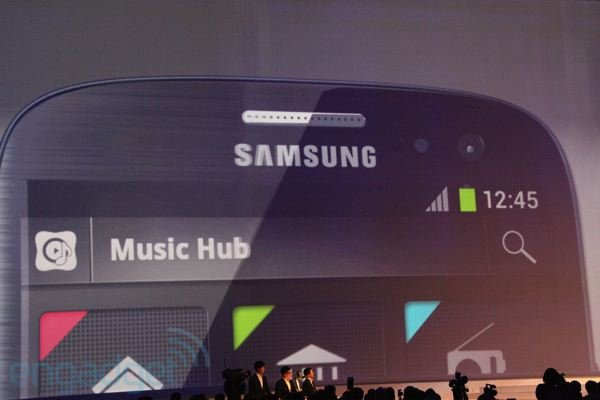 Samsung music download service debuts, challenges iTunes with big ol' catalog