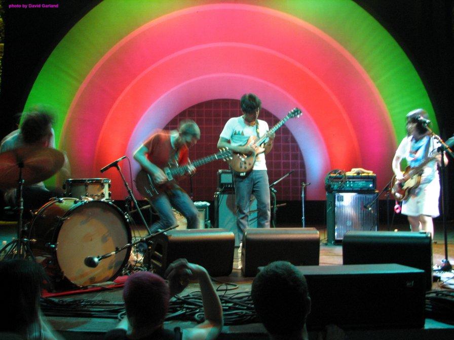 Deerhoof tour North America for college kids and morose, out-of-shape, debt-stricken, child-laden kids