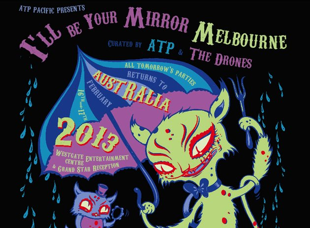 ATP announces I'll Be Your Mirror Melbourne, with My Bloody Valentine, Swans, God Speed You! Black Emperor, special screening of The Rescuers Down Under