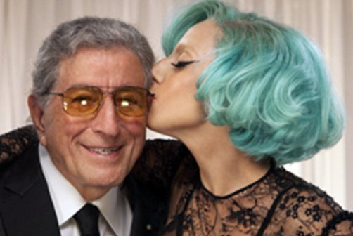 Lady Gaga and Tony Bennett working on an album of jazz duets! Nutty, cuckoo, super jazz duets!