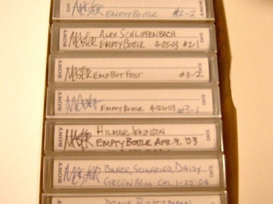Creative Audio Archive crowdfunding 15-year archive of Chicago's underground music scene