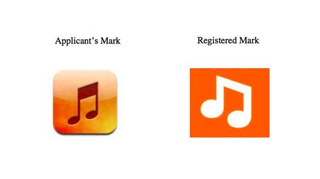 Myspace defeats Apple in a battle of the orange music icons (a trademarking story)