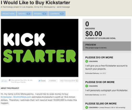 Opposite of bollocks! Kickstarter UK to launch this month