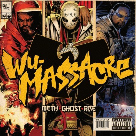 "Meth, Ghost & Rae's Wu-Massacre Artwork and Tracklist Revealed, Features Guest Spots from More Wu Members and ""Comedian"" Tracy Morgan"